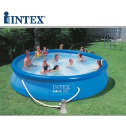 Piscina fuori terra Intex Easy Set rotonda 457x107 cm