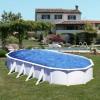 Piscina fuori terra Gre Olympus ovale 12x5,5 m