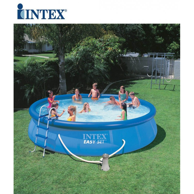 Piscina fuori terra intex easy set 457x91 cm san marco for Intex piscine catalogo