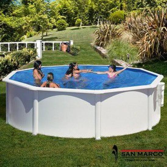 Tris antialghe ph e cloro per piscine 3kg san marco - Antialghe per piscina dosaggio ...
