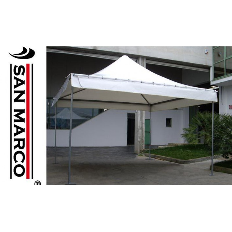 Gazebo professionale per uso pubblico 4x4 mt san marco for Gazebo professionale usato