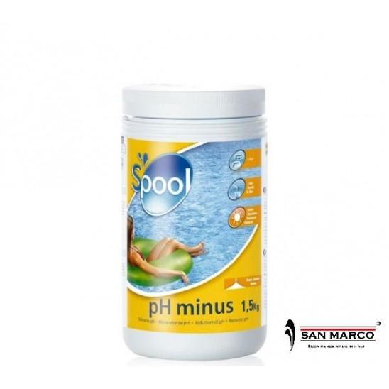 Ph per piscine gre granulare correttore acqua san marco for Acqua per piscine