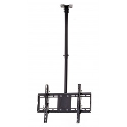 Supporto braccio staffa porta tv a soffitto lcd led plasma monitor da 42 a 85 ebay - Porta tv da soffitto ...
