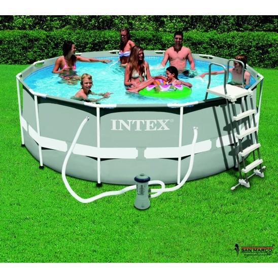 Piscina fuori terra intex frame 300x200x75 cm san marco for Piscine intex prezzi e offerte