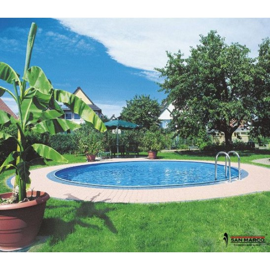 Faretto led gre per liner piscine interrate san marco for Interrare piscina intex