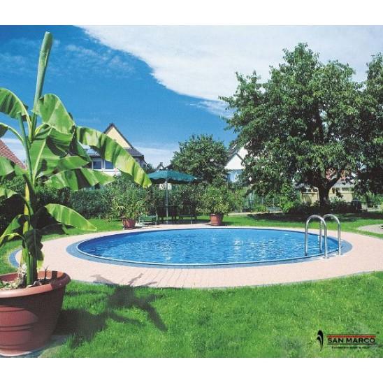 Bordo perimetrale per piscine interrate gre san marco - Prezzo piscina interrata ...