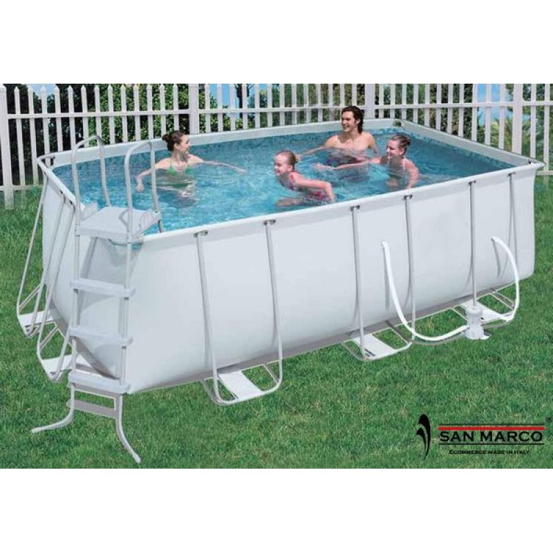 Piscina fuori terra bestway frame 404x201x100 cm san marco for Piscine fuori terra best way