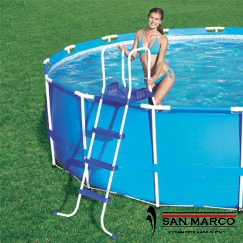 Piscina fuori terra bestway pro frame 366x122 cm san marco for Piscine fuori terra best way
