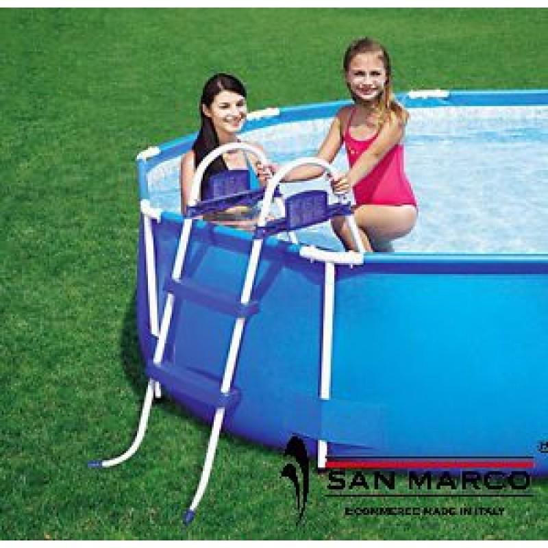 Scaletta per piscine fuori terra bestway 76 cm san marco - Scaletta per piscina fuori terra ...