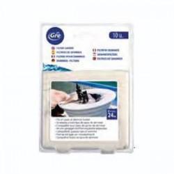 10 filtri di skimmer per piscina Gre