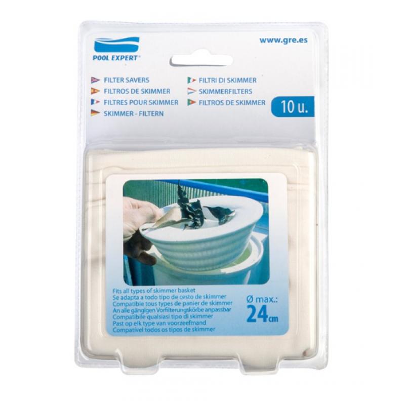 10 filtri di skimmer per piscina gre san marco - Filtri per piscine fuori terra ...