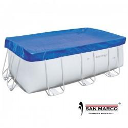 Telo copertura Bestway per piscina rettangolare 287x201 cm