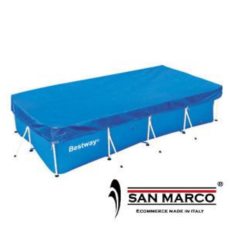 Telo copertura bestway per piscina 287x201 cm san marco - Telo copertura piscina ...