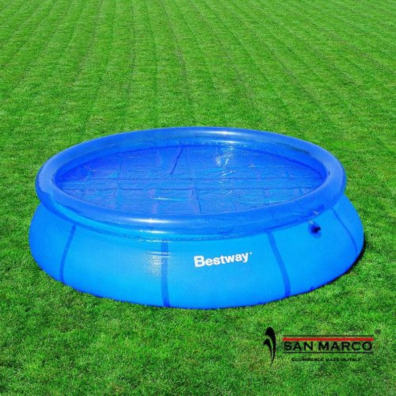 Telo isotermico bestway piscina rotonda 366 cm san marco - Piscina bestway rotonda ...