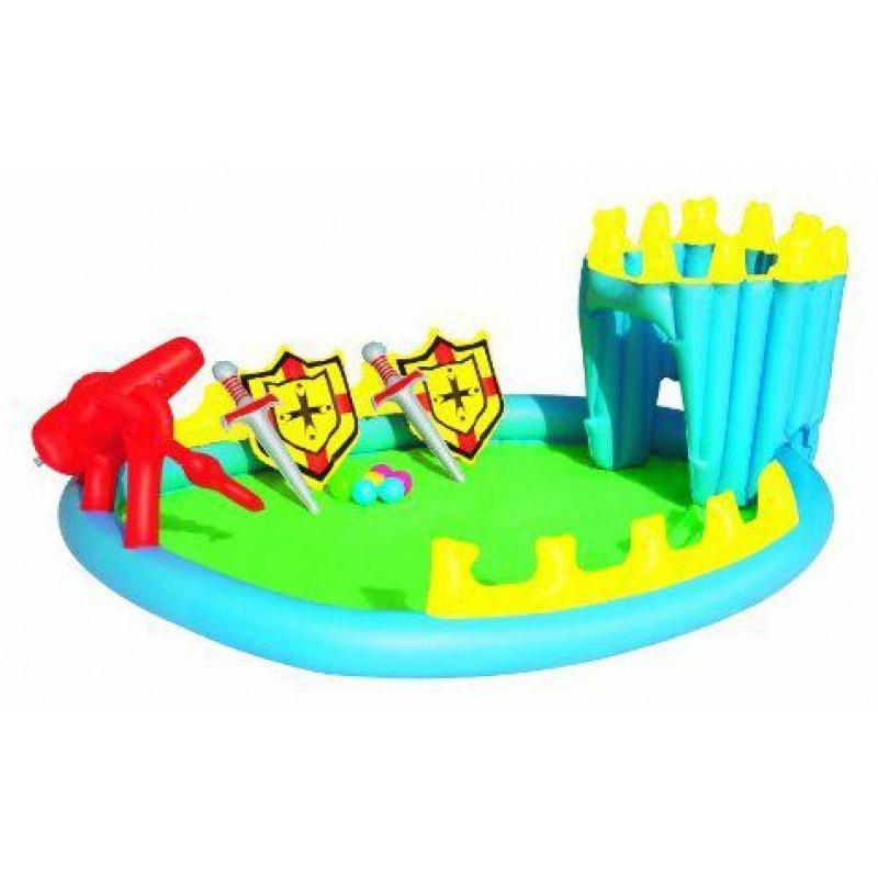 Piscina gonfiabile per bambini bestway fortezza san marco - Piscine x bambini ...