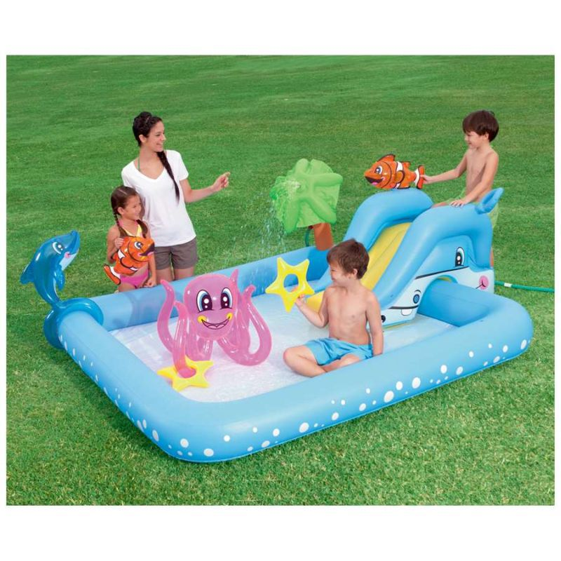 Piscina gonfiabile per bambini bestway acquario san marco - Piscine x bambini ...