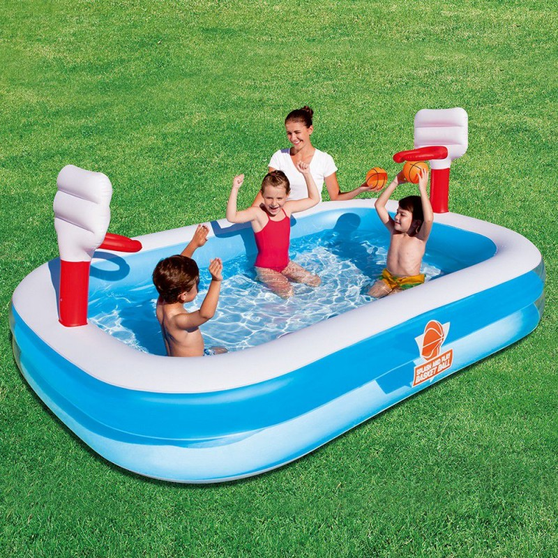 piscina gonfiabile per bambini bestway basket san marco