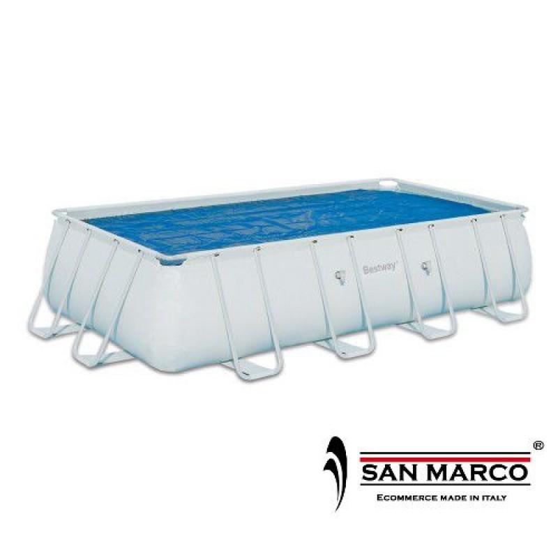 Telo isotermico piscina misure 300x201cm bestway san marco - Misure piscina bestway ...