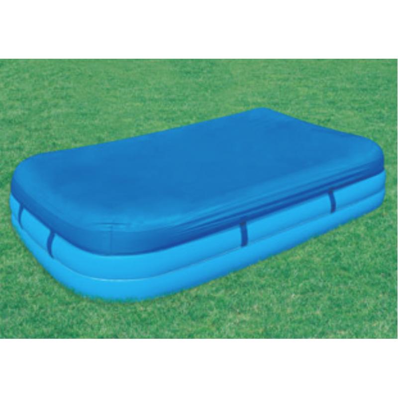 Telo copertura piscina gonfiabile 262x175 cm san marco - Telo copertura piscina ...