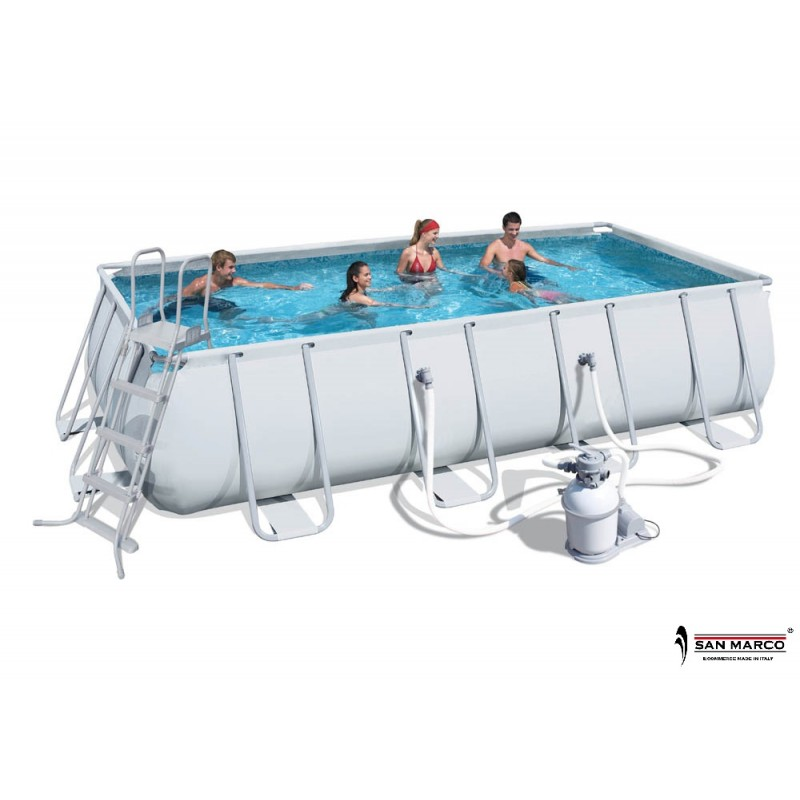 Piscina fuori terra bestway frame 732x366x132 cm 56279 for Piscine fuori terra best way
