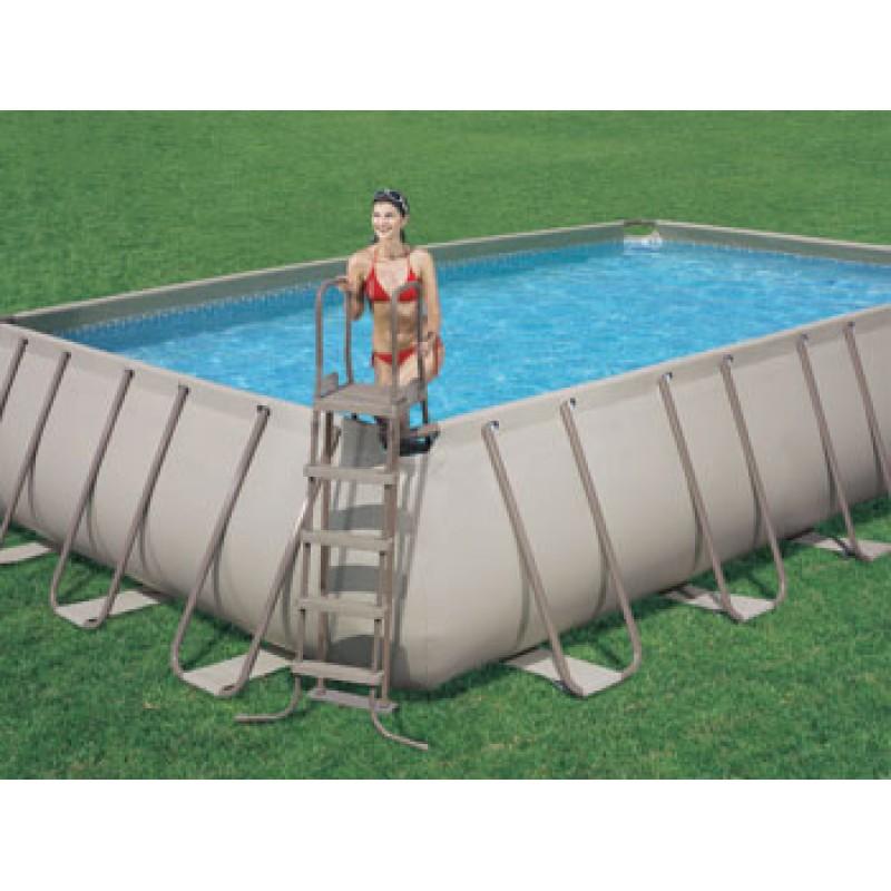 Piscina fuori terra bestway frame 732x366x132 cm san marco for Accessori piscine fuori terra bestway
