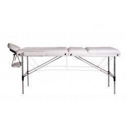 Lettino massaggio in alluminio 3 zone con spugna