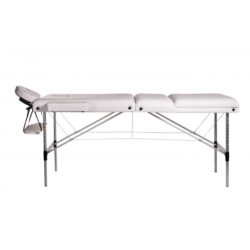 Lettino Massaggio Professionale Pieghevole.Lettino Massaggio Bianco 3 Zone Alluminio San Marco