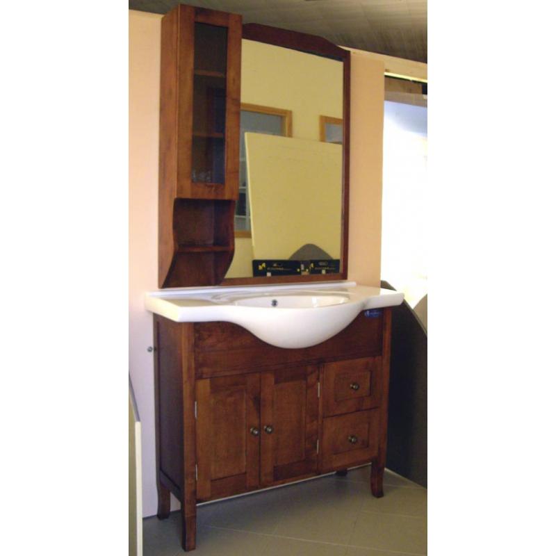 Mobile lavabo in arte povera con cassettoni | San Marco