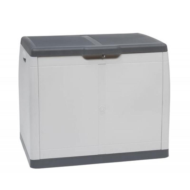 Baule per esterno in resina da 274 litri san marco for Baule plastica brico