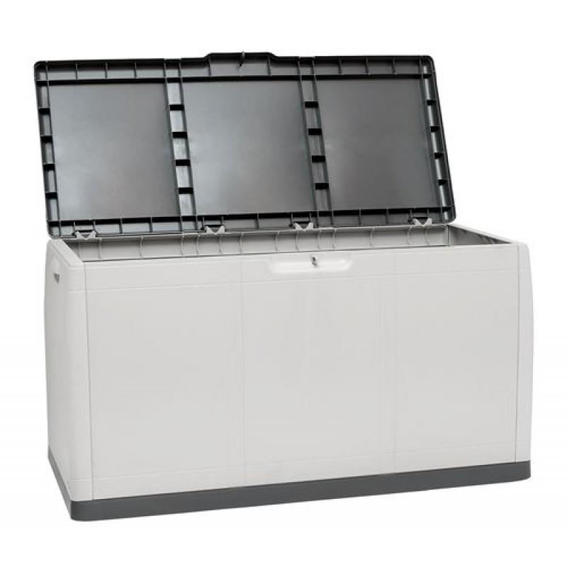 Baule per esterno in resina da 414 litri san marco for Baule plastica brico