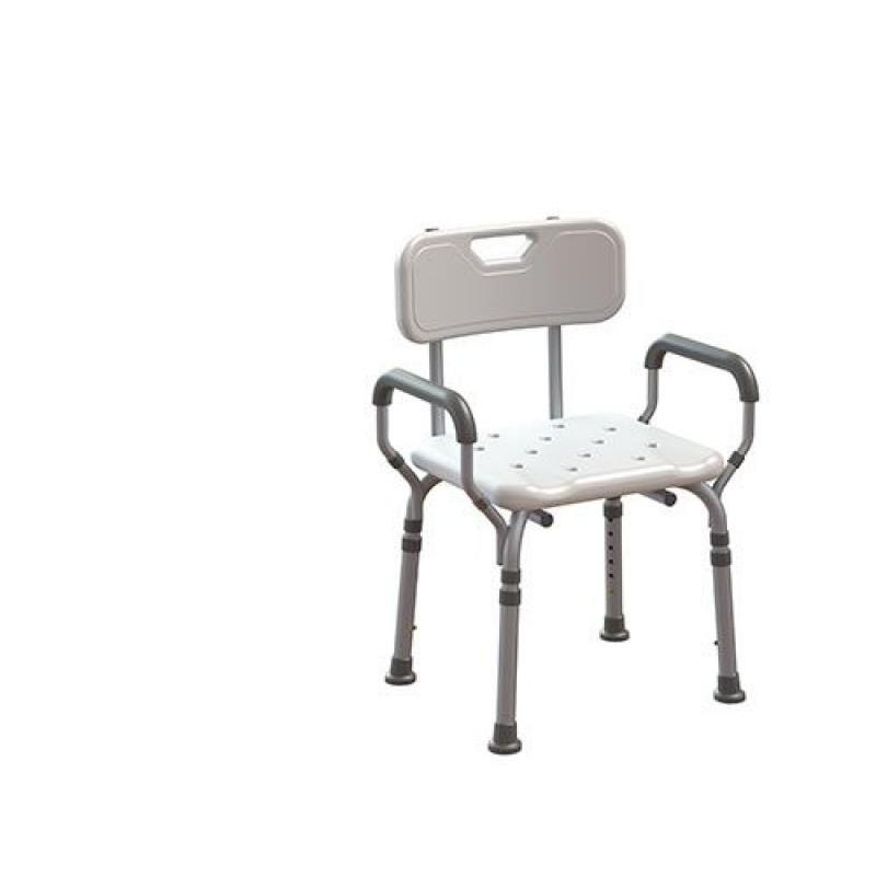 Sedia doccia disabili con braccioli estraibili | San Marco