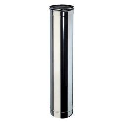 Tubo monoparete in acciaio inox Aisi 316 da 100 cm, diametro a scelta