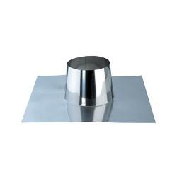 Faldale monoparete piatto, in acciaio inox