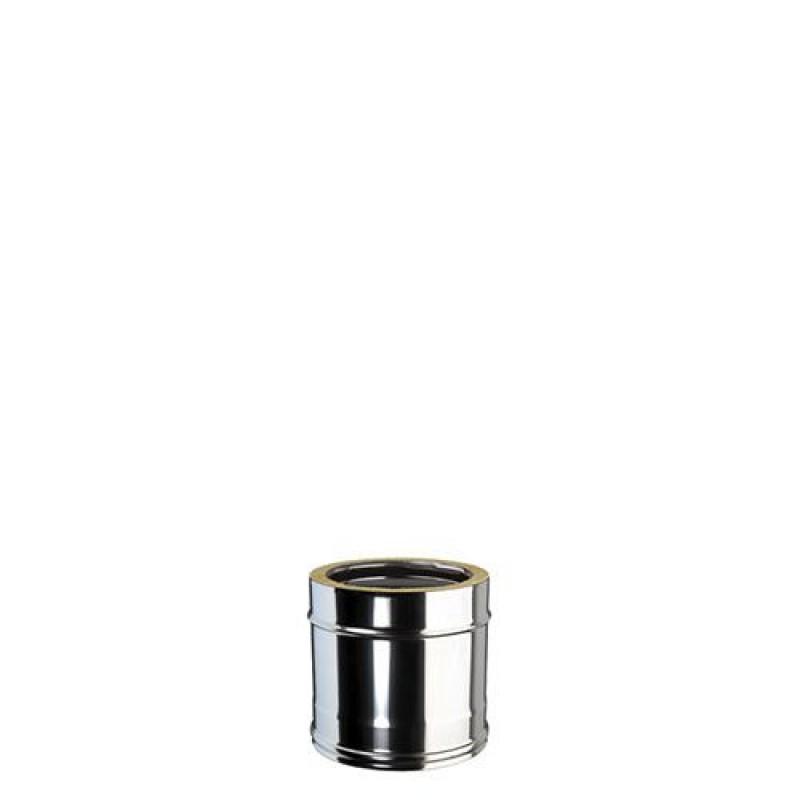 Tubo coibentato per stufe a pellet in acciaio san marco - Stufe a pellet a parete ...