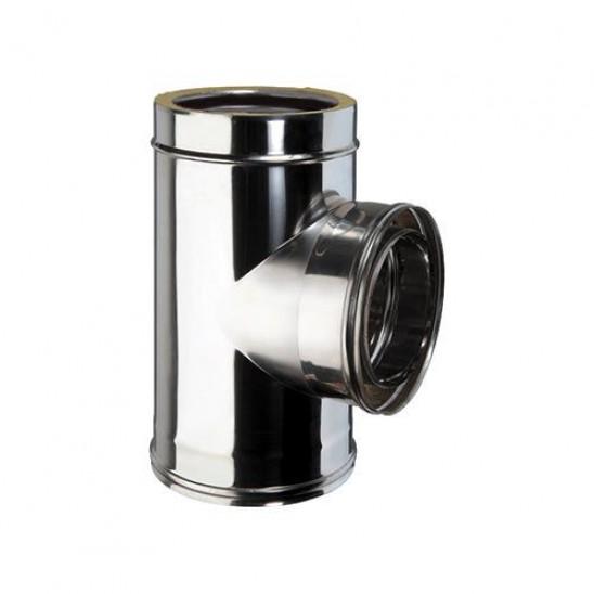 Gomito a 45 coibentato in acciaio inox san marco for Raccordo in acciaio verticale