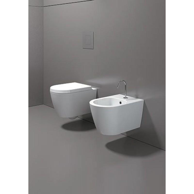 Sanitari filo parete falerii ceramica san marco - Sanitari small ...