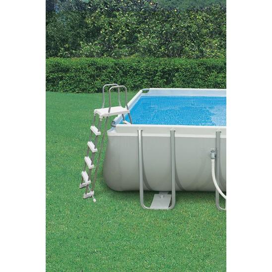 Scaletta zodiac twin 3 gradini per piscine interrate san - Scaletta per piscina fuori terra ...