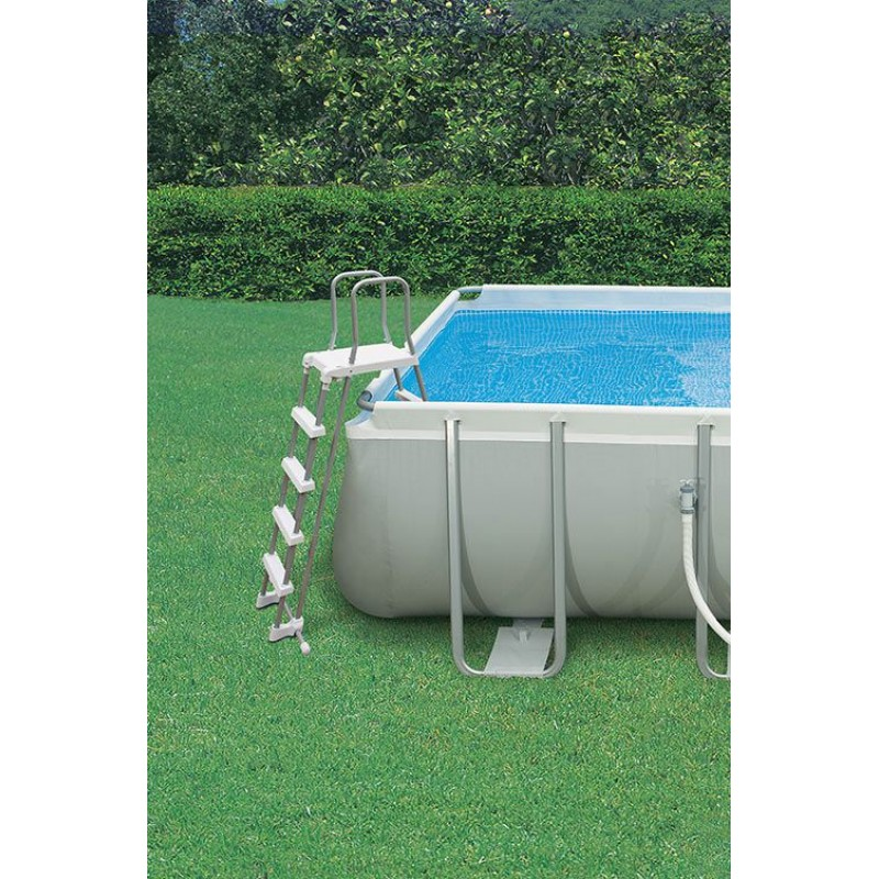 Scaletta intex per piscine fino a 132 cm san marco for Decorazioni per piscine fuori terra