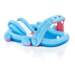 Gioco gonfiabile piscina Intex Hippo Play Center