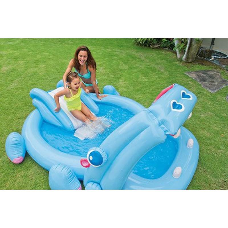 Gioco gonfiabile piscina intex hippo play center san marco - Piscina gioco gonfiabile ...