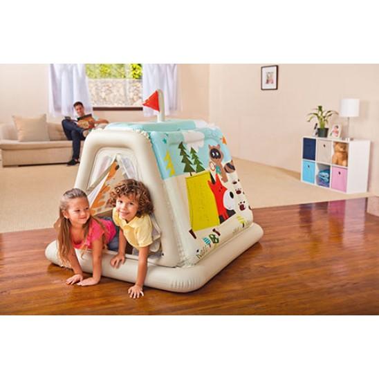 Tenda gonfiabile per bambini Intex Sentiero animali