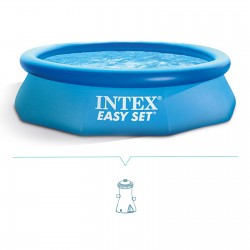 Piscina fuori terra Intex Easy Set 244x76 cm