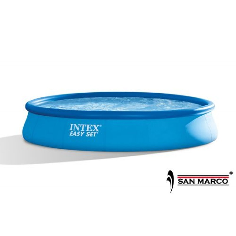 Piscina fuori terra intex easy set 457x84 cm san marco for Piscina intex easy set
