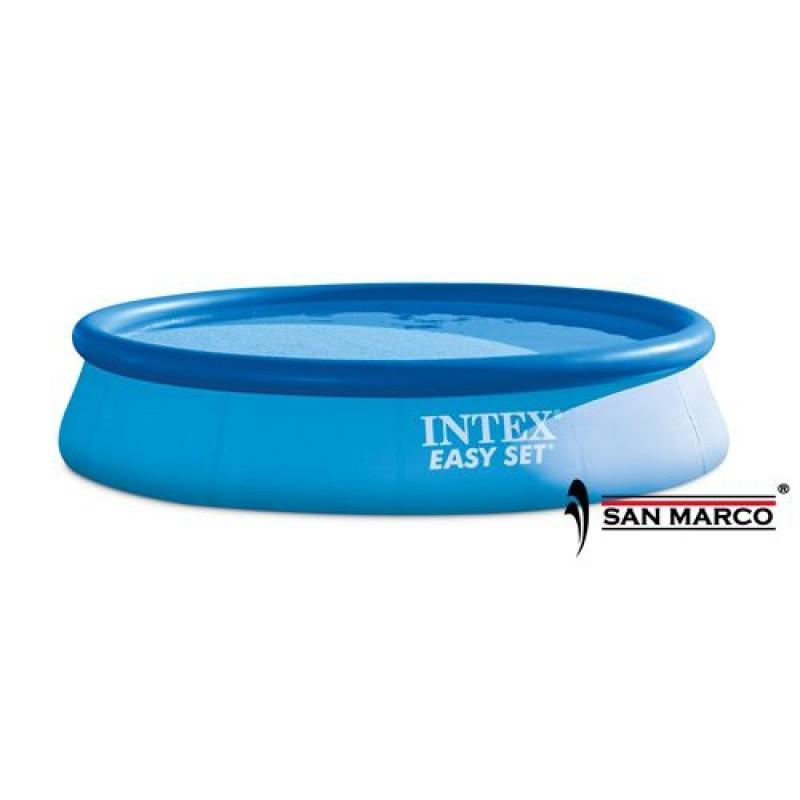 Piscina easy set intex 396x84 cm san marco for Piscina intex easy set