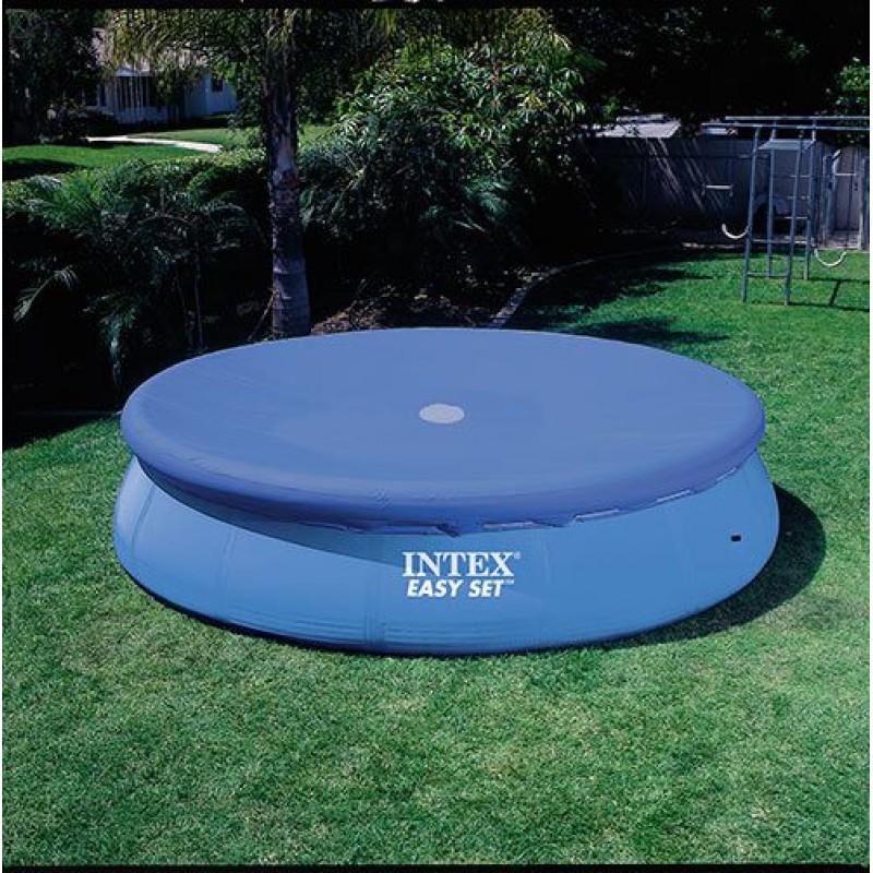 Telo di copertura intex per piscine easy set 366 cm san for Teli invernali per piscine intex