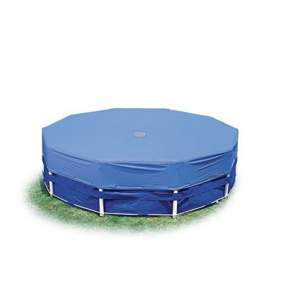 Telo di copertura per piscine ovali da 550x305 cm san marco - Telo copertura piscina intex ...