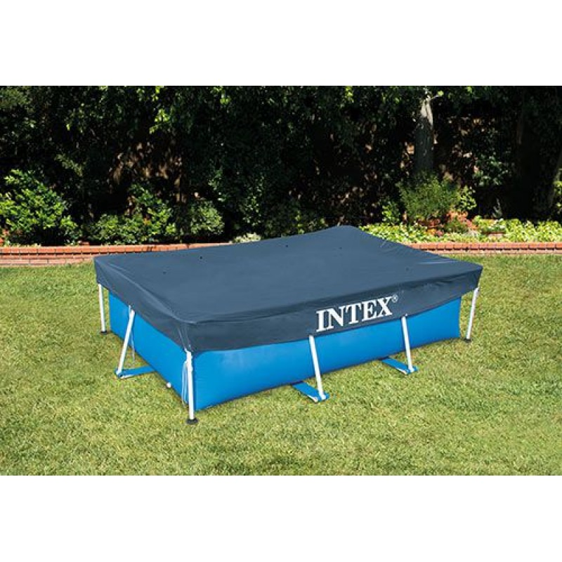 Telo di copertura per piscine frame intex 300x200 cm san - Telo per piscina intex ...
