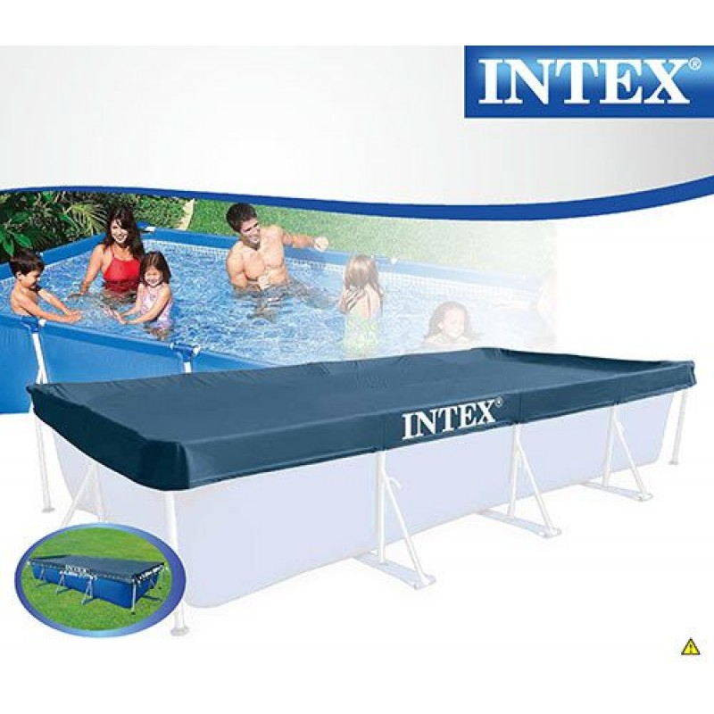 Telo di copertura intex per piscine 460x226cm san marco for Tappeto per piscina intex