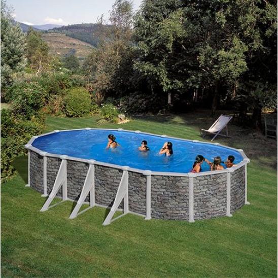 Come installare una piscina fuori terra fai da te - Piscine fuori terra san marco ...