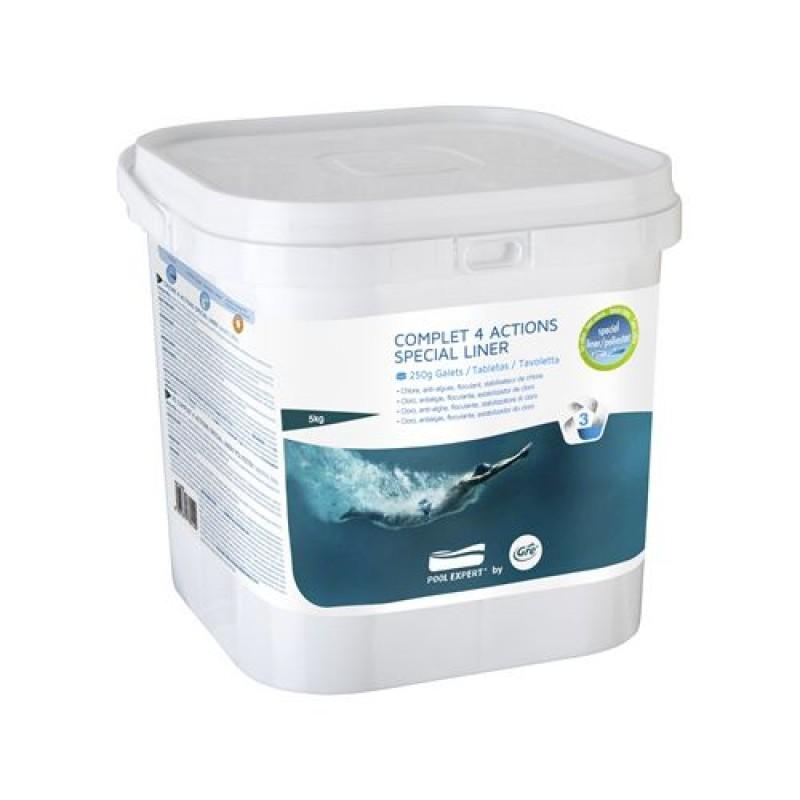 Pastiglie per piscina complet 4 actions liner 5kg san marco - Pastiglie piscina ...